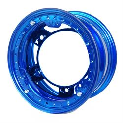 Aero 53-920540BLU 53 Series 15x12 Wheel, BL, 5 on WIDE 5, 4 Inch BS