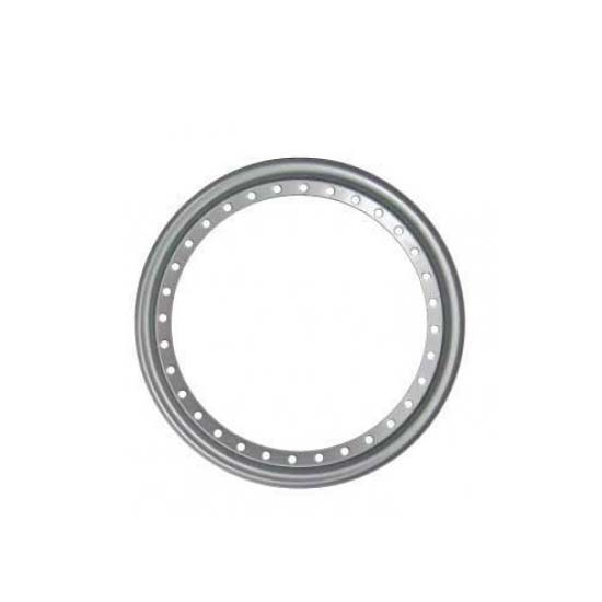 Aero Race 54-500033 Wheels Replacement Beadlock Rings, 13 Inch, Silver