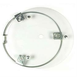 """Aero 54-500042 Non-Beadlock Clear Lexan Mudcover for 13"""" Wheel"""