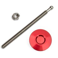 Quik-Latch QL-25-ACRD Red Anodized Mini Air Cleaner Latch