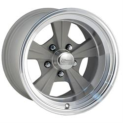 Rocket Racing Wheels 516550 Strike Wheel, 15 x 10, 5 on 4-1/2, 5 Inch Backspace