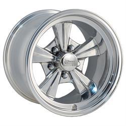 Rocket Racing Wheels 516550 Strike Wheel, 15 x 10, 5 on 4-1/2, 5 Inch Backspace