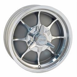 Rocket Racing Wheels Fire Wheel, 16 x 5, 5 on 5, 2.375 Inch Backspace