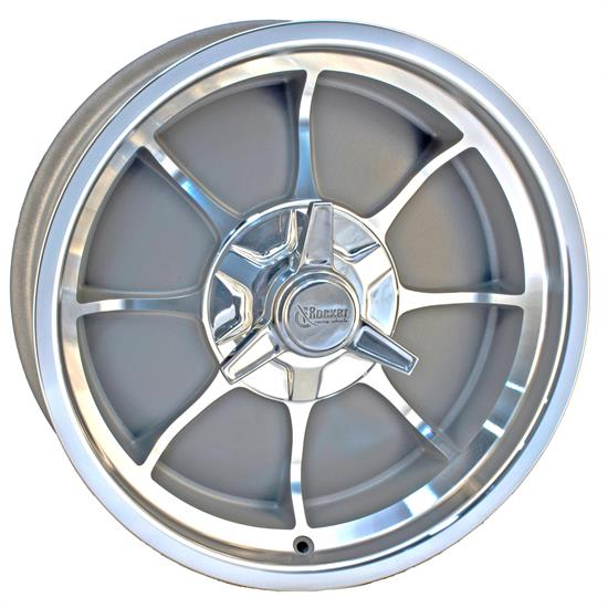 Rocket Racing Wheels Fire Wheel, 18x6, 5 on 4.5, 2.875 Backspace