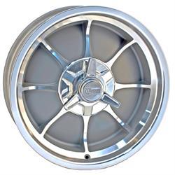 Rocket Racing Wheels Fire Wheel, 18 x 6, 5 on 5.5, 2.875 Inch Backspace