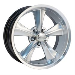 Rocket Racing Booster Silv 18x8 Wheel, 5x4.5, 4.75 BS