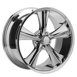 Rocket Racing Modern Muscle Booster 20X10 Wheel, 5x4.50 BP, 40mm Off.