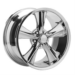 Rocket Racing Modern Muscle Booster 18X9 Wheel, 5x4.50 BP, 20mm Off.