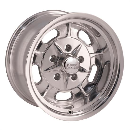 Rocket Racing Wheels Igniter Series 15X8 Wheel, 5X4.5 BP, 3.75 BS