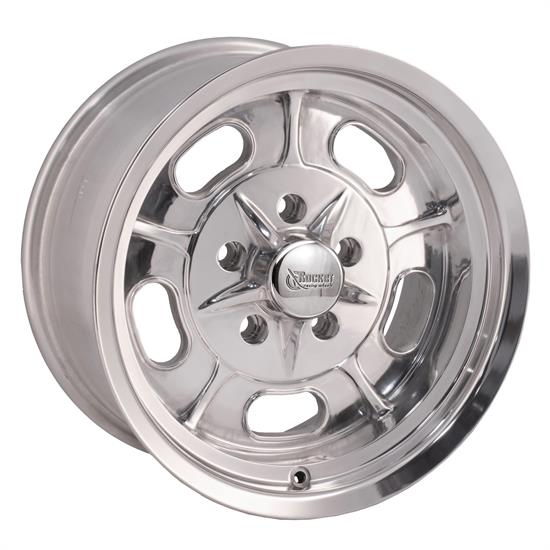 Rocket Racing Wheels Igniter Series 16X8 Wheel, 5X4.5 BP, 3.75 BS