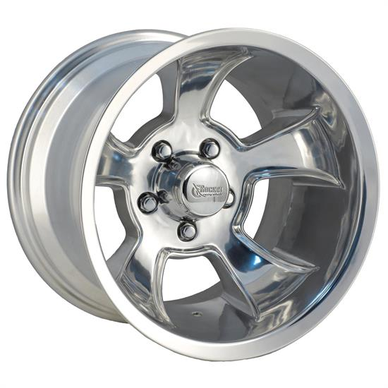 Rocket Racing Wheels Injector Series 15X10 Wheel, 5X5.5 BP, 3.75 BS