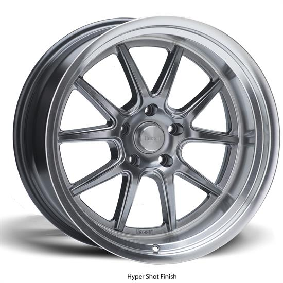 Rocket Racing Wheels Attack Wheel, 18x10, 5 on 4.5