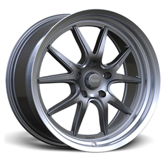 Rocket Racing Wheels Attack Wheel, 18x10, 5 on 5