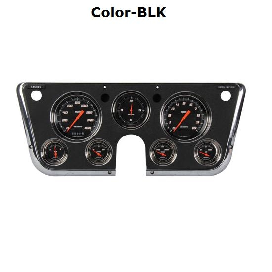 classic instruments 67 72 chevy pickup g stock gauge set