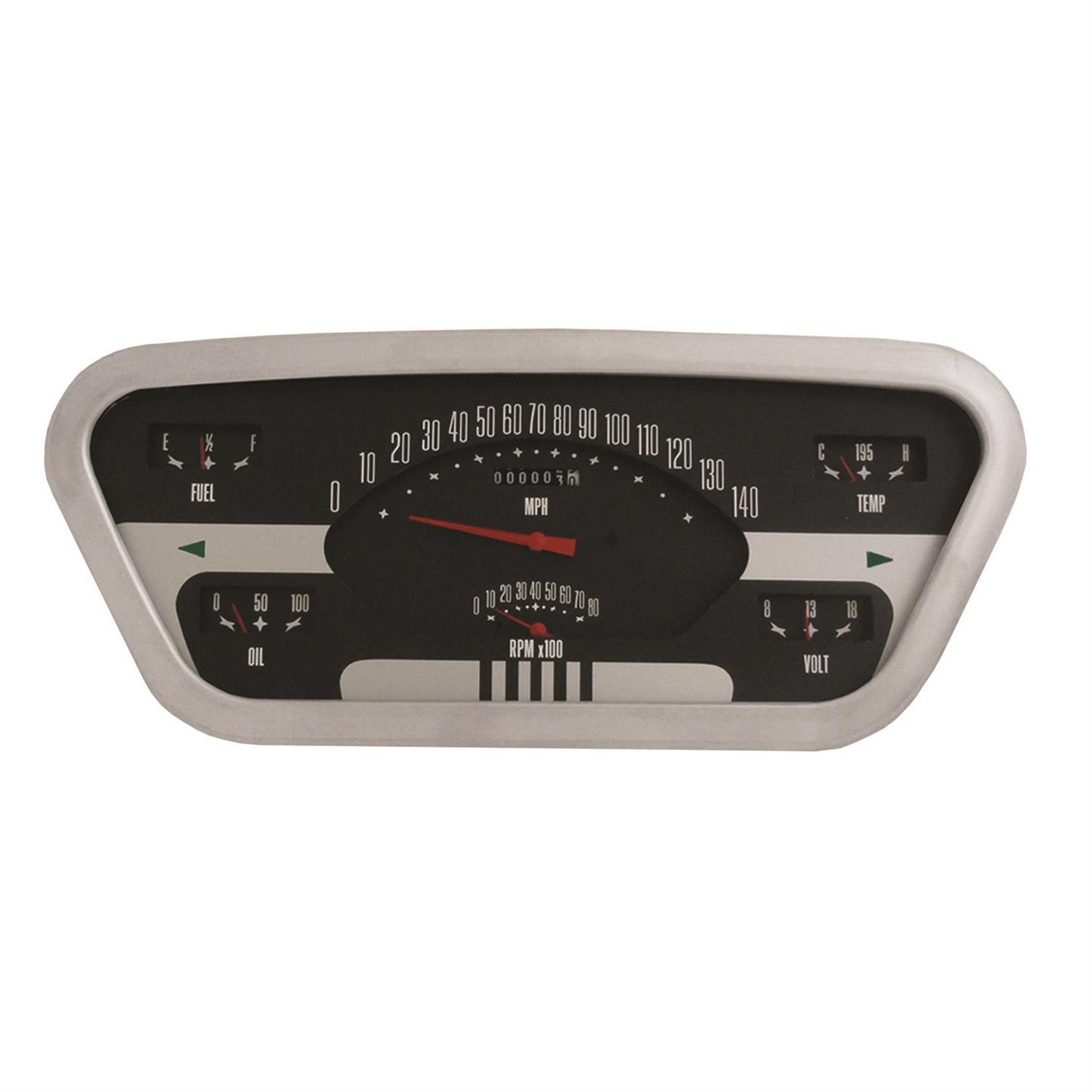 classic instruments ft53oe 1953 55 f100 ford pickup dash gauge set rh speedwaymotors com 1953 Ford Dash 1953 Ford Body Parts