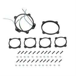 Classic Instruments BZMA6GS Outer Gauge Bezels for Bomber Series