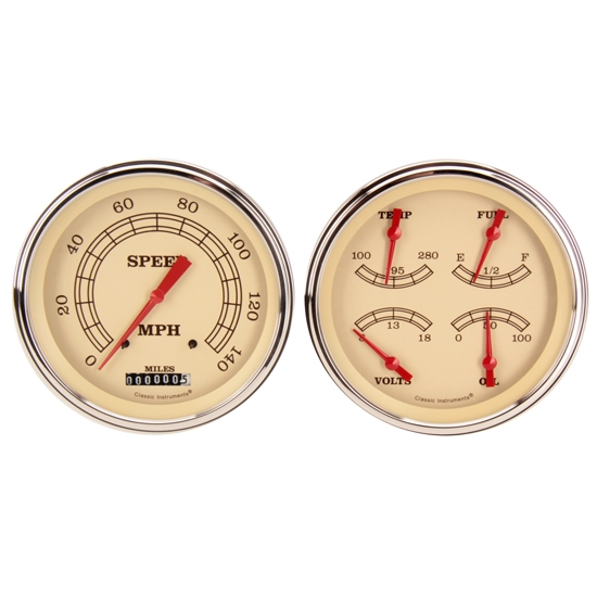 Classic Instruments CT54VT52 1954-55 Chevy Truck Vintage Series Gauges