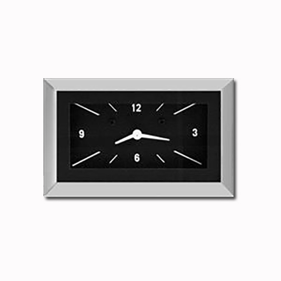 Classic Instruments CH57CLB 1957 Chevy Dash Clock, Black