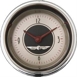 Classic Instruments AN90SHC All American Series Nickel Clock