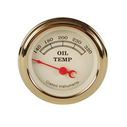 Classic Instruments VT28GLF Vintage Oil Temperature Gauge