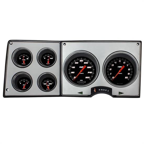 Classic Instruments CT73VSB Direct Fit Gauge Set, 73-87 GM Truck