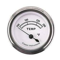 Classic Instruments CW26SLF-D Classic Water Temperature Gauge