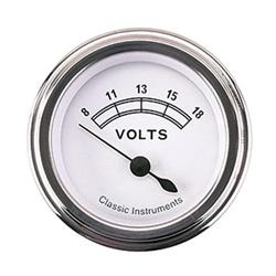 Classic Instruments CW30SLF-D Classic Battery Voltage Gauges