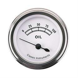 Classic Instruments CW81SLF-D Classic Oil Pressure Gauges