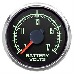 "New Vintage USA 69123-01 1969 Series 2 1/16"" Voltmeter Black"