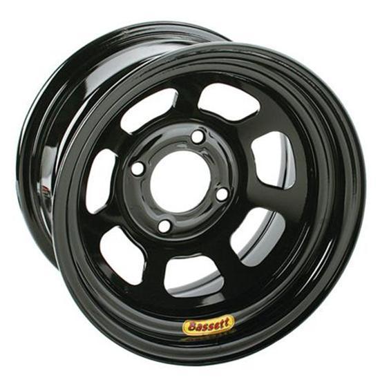 Bassett Pony-Mini Stock 13 Inch Wheel - 13x7, 4 on 4 1/2, Black