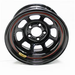 Bassett DOT Approved 15 Inch Wheel - 15x7, 5 on 5, Black