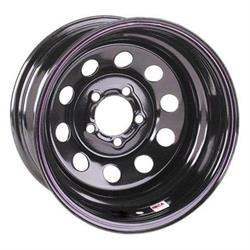 UNIQUE 83 OEM Rim 15X6 4X107.95 Offset 41 Matte Black Quantity of 1