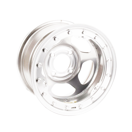 Bassett 30SP3CL 13X10 Inertia 4 on 4.25 3 In. BS Chrome Beadlock Wheel