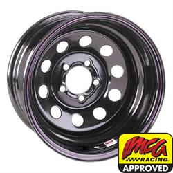 Speedway IMCA Approved 15 Inch Wheel, 15x8, 5 on 5, Non-Beadlock
