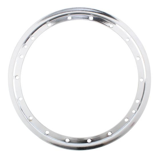 Bassett Racing Wheels 50LC Replacement 15 In Beadlock Ring, Chrome