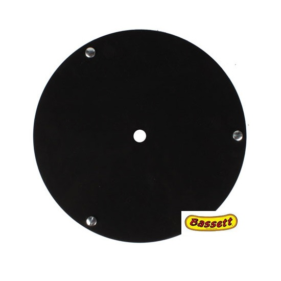 Bassett Racing Wheels 3RFB Replacement 15 Inch Wheel Mud Cover - Black