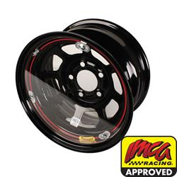 Bassett Racing Wheels 3RFC Replacement 15 Inch Wheel Mud Cover, Clear