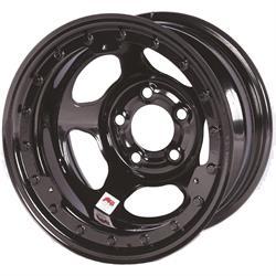 Bassett 15x8 Inertia Beadlock Wheel, 5 on 5 Bolt Pattern, IMCA