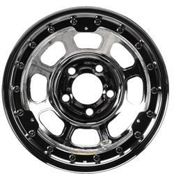 Bassett 15x8 D-Hole Beadlock Wheel, 5 on 5 Bolt Pattern, IMCA