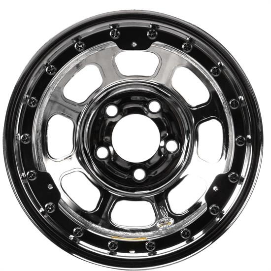 Bassett 15x8 D-Hole Beadlock Wheel, 5 on 5 Bolt Pattern, Wissota