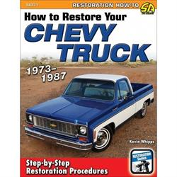 Car Tech SA331 How-To Restore Book, 1973-1987 Chevy Truck