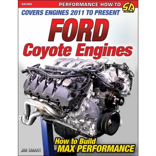 Car Tech SA380 How-To Build Max-Performance Book, Ford Coyote