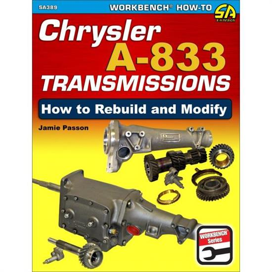 Car Tech SA389 How-To Rebuild/Modify Trans Book, Chrysler A-833