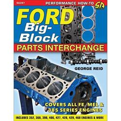 Car Tech SA397 Ford Big-Block Parts Interchange Book