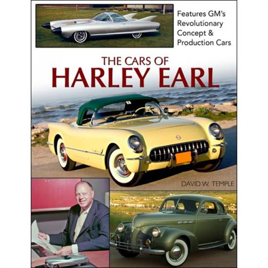 Car Tech CT556 The Cars of Harley Earl - History Book