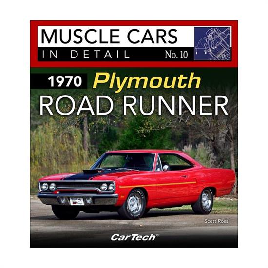 Car Tech CT581 Muscle Car Detail #10 Book,70 Plymouth Road Runner