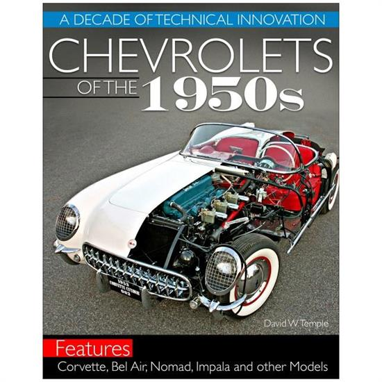 Car Tech CT608 Chevrolets of the 1950s - History Book