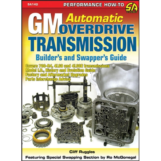 Book - GM Automatic Overdrive Transmission Builder's & Swapper's Guide