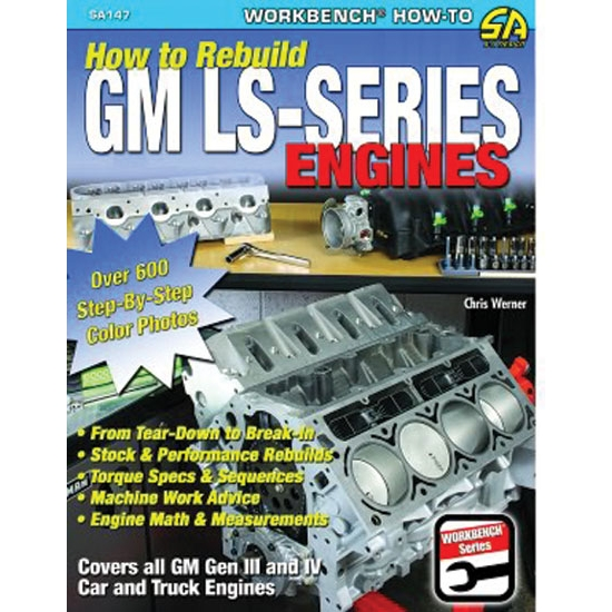 CarTech SA147 How to Rebuild GM LS-Series Engines, Book