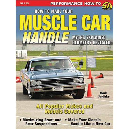 CarTech SA175P How to Make Your Muscle Car Handle, Book